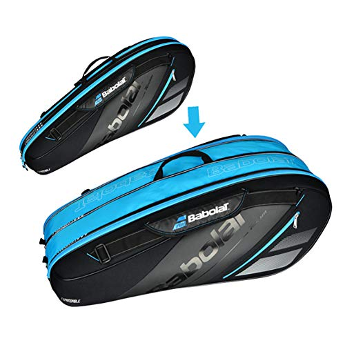 Expandable Space Badminton Racket Bag, Tennis Racquet Bag, Badminton Backpack, Shoulder Bag ()
