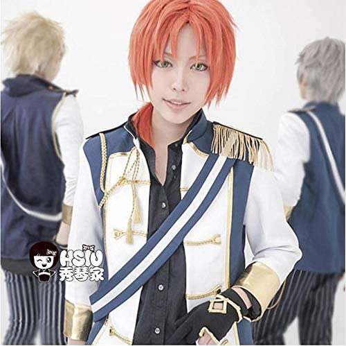 Leo Tsukinaga Cosplay Peluca Ensemble Stars Anime Juego Costeme ...