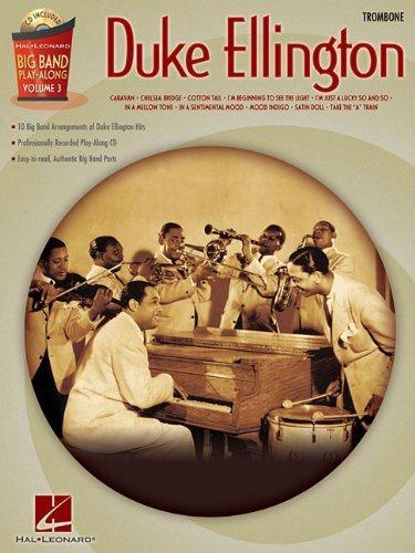 Duke Ellington Big Band Play-Along Vol.3 Trombone BK/CD - Ellington Mall Shopping
