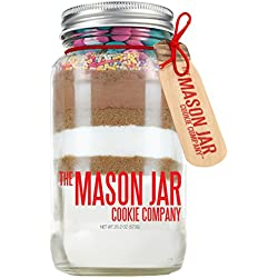 The Mason Jar Cookie Company Brownie Mix, Spring, 26.46 Ounce