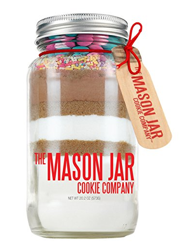 - The Mason Jar Cookie Company Brownie Mix, Spring, 26.46 Ounce