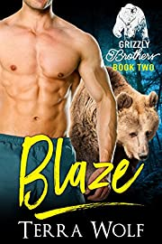 Blaze (BBW Paranormal Shapeshifter Romance) (The Grizzly Brothers Book 2)