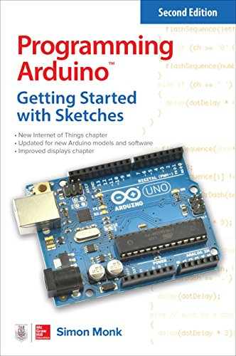 - Programming Arduino: Getting Started with Sketches (Tab)