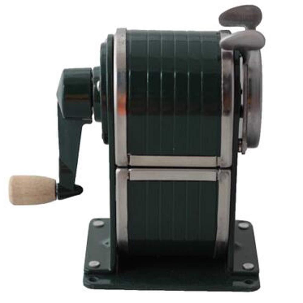 Taille-crayon /À Manivelle 6mm-8mm Metal Creative Entre Automatiquement Dans Le Taille-crayon . Color : Black