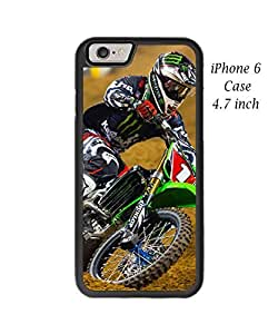 iPhone 6 - 4.7 Inch Case Cover,Plastic and TPU Durable Motorcycle Motocross Championship Case Cover for iPhone 6
