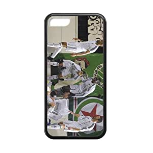 HGKDL Five major European Football League Hight Quality Protective Case for Iphone 5c