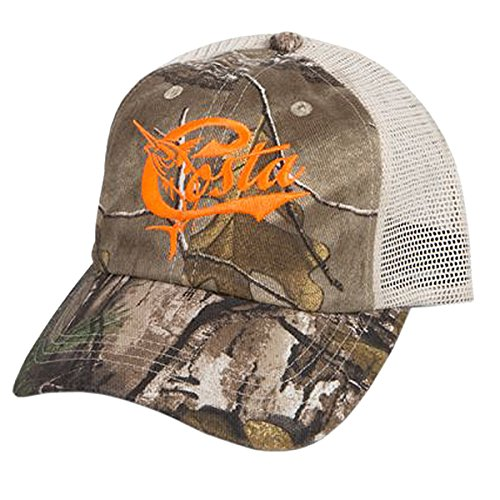 Costa Del Mar Retro Trucker Hat, - Costas Camo