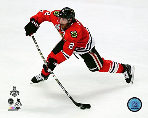 Finals Action Photo - Duncan Keith Chicago Blackhawks 2015 Stanley Cup Final Action Photo (Size: 11