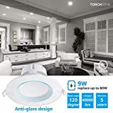 TORCHSTAR 4-Pack 6 Inch LED Recessed Downlight with