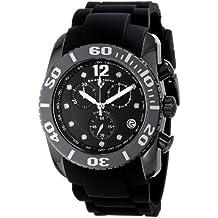 Swiss Legend Men's 10127-01-SA Commander Diamonds Analog Display Swiss Quartz Black Watch