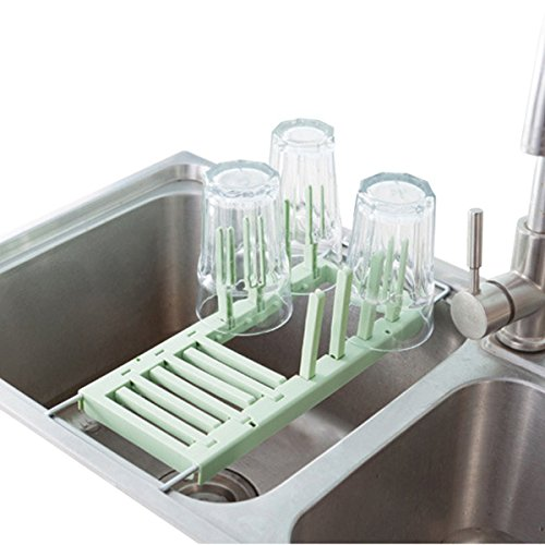 Dish Drying Rack Over the Sink Multifunction Adjustable 2 Me