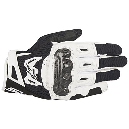 Alpinestars SMX-2 AC V2 Carbon Air Black/White Large Summer Glove