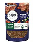 Farmers Market Pet Food Premium Natural Grain-Free Wet Dog Food Pouch, 5.3 oz, Lamb & Vegetables (Case of 24)