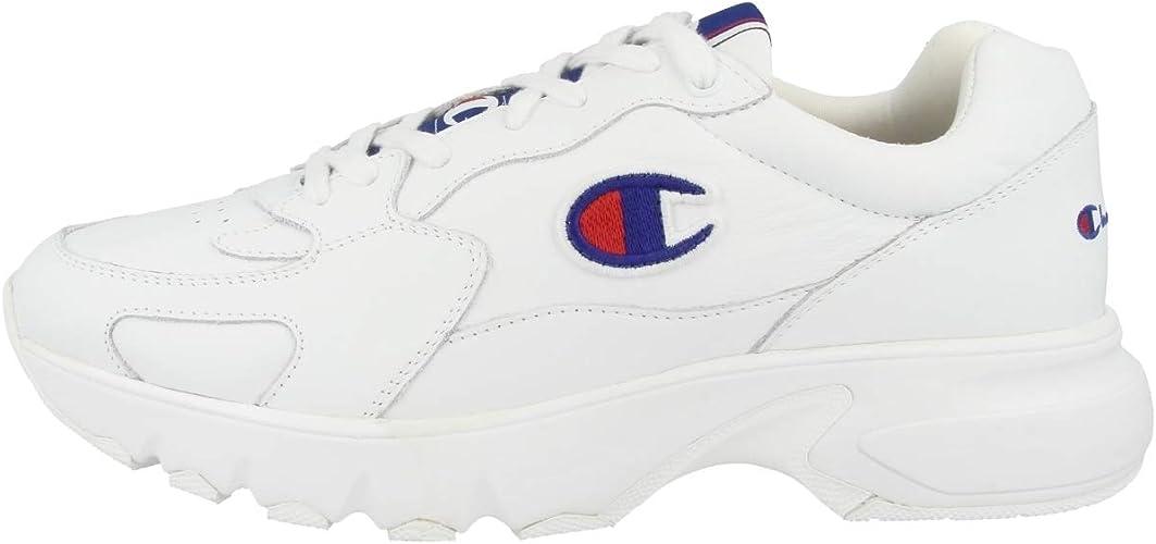 Champion, Uomo, Low Cut Shoe CWA 1 Leather, Pelle, Sneakers