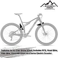 NICEDACK Guardabarros MTB, Guardabarros Bicicleta Montaña, MTB ...