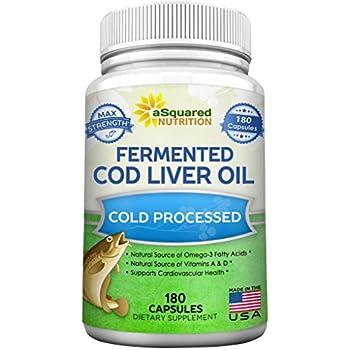 Blue ice fermented cod liver oil orange flavor for Fermented fish oil