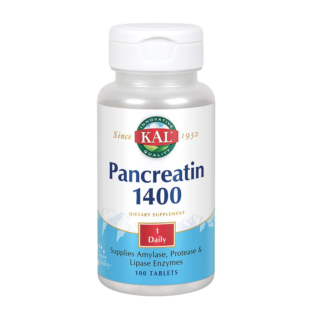 Amazon.com: Pancreatin 1400 mg – 500 – Tablet: Health ...