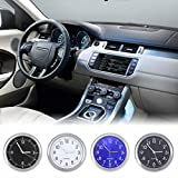IMIKEYA 2pcs Car Clocks Stick-On Car Dashboard