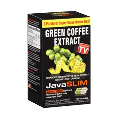 Intramedics Javaslim Green Coffee Count