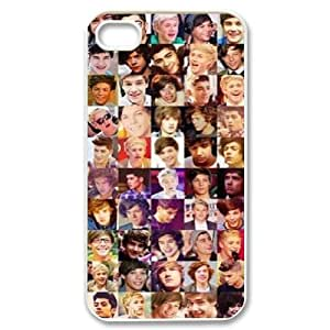 ALICASE Diy Customized hard Case One Direction For Iphone 4/4s [Pattern-2]