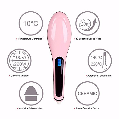 Review 2-in-1 Pink Electric Hair