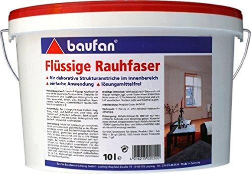 Baufan Flüssige Raufaser Rauhfaser 10l