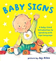 Long before they're able to talk, babies have a whole lot to say. With this adorable board book of essential signs, babies and toddlers can easily learn how to communicate their needs, wants, and feelings and even make basic observations with...