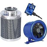 Hyper Fan 10 + Phresh 10 x 24 Carbon Filter Combo Package