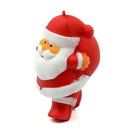 Newin Star Juego Squishies Lento Aumento de Jumbo Kawaii Lindo de Santa Claus para los niños