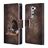 Official Brigid Ashwood Horse Celtic Wisdom Leather Book Wallet Case Cover For LG G4 / H815 / H810