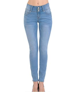 wax jean High Waisted Jeans for Women-Stretchy Denim Butt ...