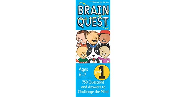 Amazon.com: Brain Quest Grade 1, revised 4th edition: 750 ...