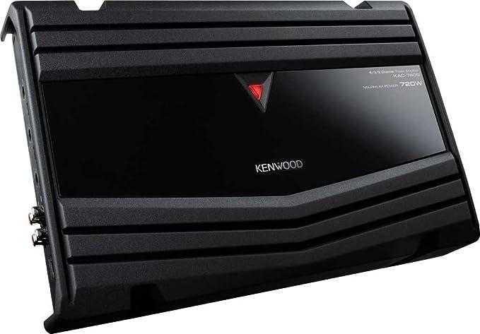 Kenwood Kac 7405 4 Kanal Endstufe Schwarz Elektronik