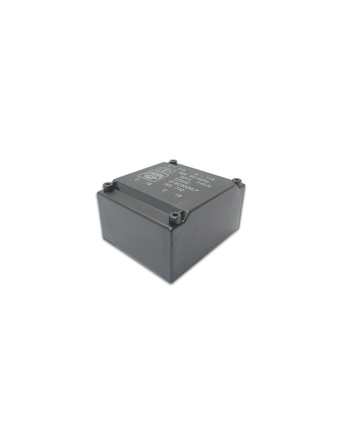 Perel 139143/Plat Transformateur 18/VA 2/x 18/V 2/x 0.500/Amp