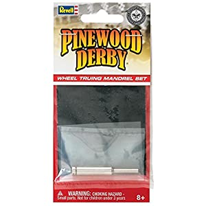 Revell Pinewood Derby Wheel Truing Mandrel Set
