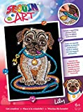 Sequin Art Red, Pug, Sparkling Arts and Crafts
