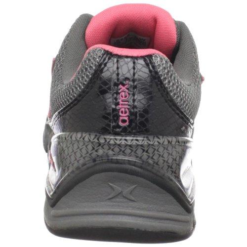Aetrex Dames Xspress Fitness Runner Zwart / Koraal
