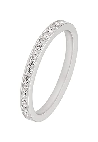 34241318e Swarovski Women's Ring Rare Metallic (Silver): Amazon.co.uk: Jewellery