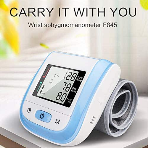 Wrist Blood Pressure with192 Set Memory Voice Broadcast and Large LCD Screen, Battery Powered