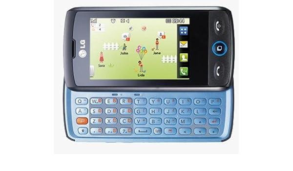 LG GW520 Cookie 3G, Movistar Libre,Teclado (QWERTY),Color Negro ...
