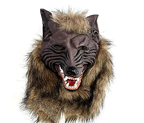 Cosplay Party Mask Werewolf Skull Halloween Wolf Head Mask