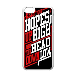 Rock Band ADTR A Day To Remember iPhone 5c Cell Phone Case White&Phone Accessory STC_017306