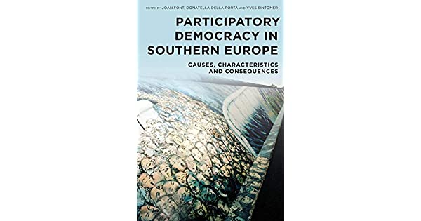 Amazon.com: Participatory Democracy in Southern Europe ...