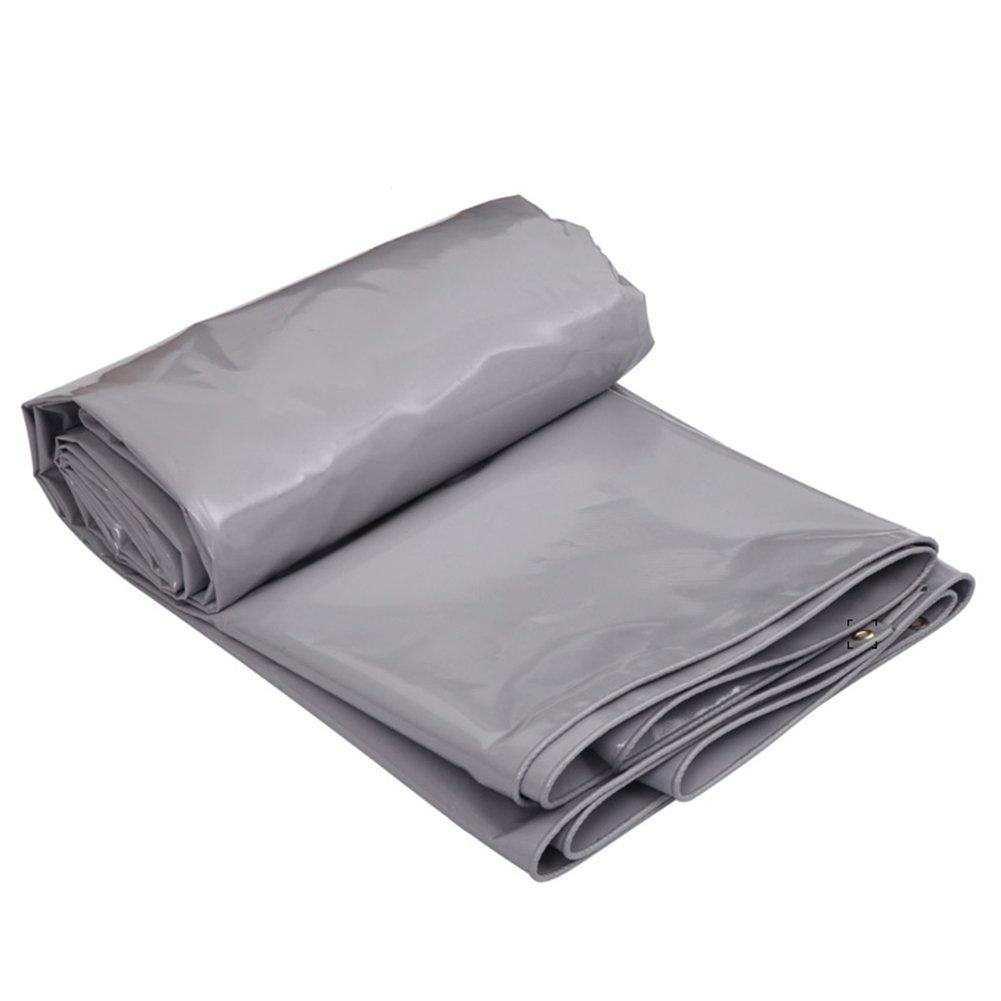 Zeltplanen Graue Farbe PVC Plus Starker Regen-Stoff-Wasserdichter Sonnenschutz 5 Kind-Größe Kann für Lagerbau-LKW-Fabriken und EnterprisesGulf Pier Verwendet Werden