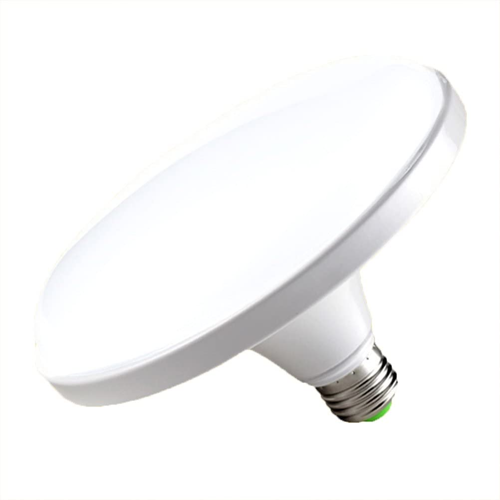 LEDMOMO E27 Lámpara ahorro de energía del LED Luz plana del poder más elevado del LED 220V E27 12W Luz del UFO LED para la iluminación del hogar