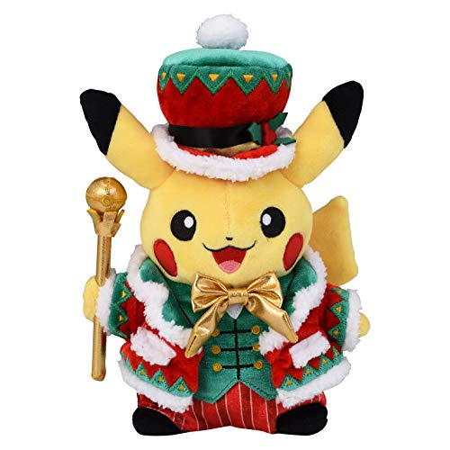 Pokemon center original Plush Toy Christmas 2018 Pikachu (Pokemon Center Hat)