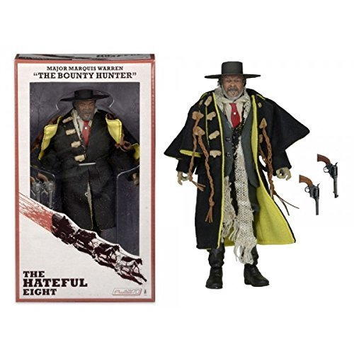 The Hateful Eight Major Marquis Warren The Bounty Hunter Samuel L. Jackson 8 Action Figure by Reel Toys
