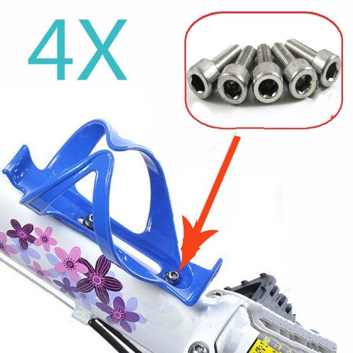 FamilyMall Lots Bicycle Cycle Mountain Road Bike Bottle Frame Cage Pump Holder Screws Bolts FamilyMall Co. LTD