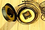 KiaoTime Retro Vintage Double Sided Bronze Metal