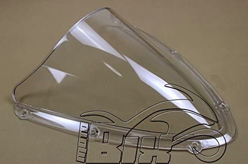 CUPOLINO PLEXIGLAS PER SUZUKI GSX R 600//750 2008 2009 2010 DOPPIA BOLLA CHIARO TRASPARENTE